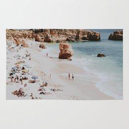 beach vibes xvii / portugal Rug