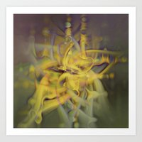 A Kinder, Gentler Abstract on Drugs Art Print