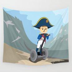 Napoleon Segways the Alps Wall Tapestry