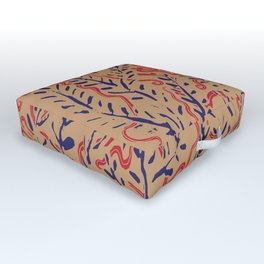 Indian Snakes Outdoor Floor Cushion