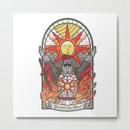 Praise the sun 2 Metal Print