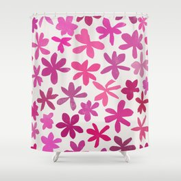 wildflowers 2 Shower Curtain