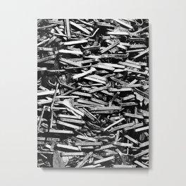 Stapled Metal Print