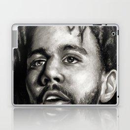 J.Cole B&W Portrait Laptop & iPad Skin