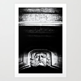 Disapproving Scowl Art Print
