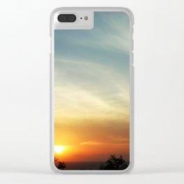 Hon Rom beach Clear iPhone Case