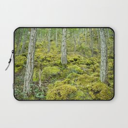 Mossy Forest Floor Laptop Sleeve