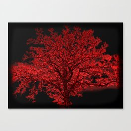 Red Tree A182 Canvas Print