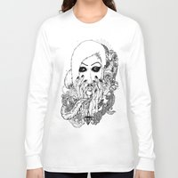 goth Long Sleeve T-shirts featuring goth love by Jess John
