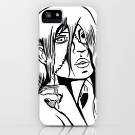 One Eyed Ghoul iPhone Case