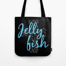 Jellyfish Cross Black Tote Bag