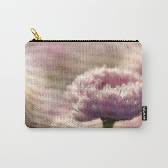 Daisy Flower Floral in Love Carry-All Pouch