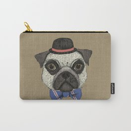 Mr Pug Carry-All Pouch