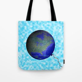 earth balloon Tote Bag