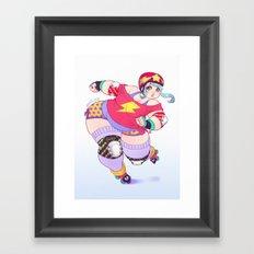 Bomba Framed Art Print