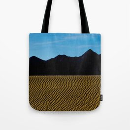 Sand Dunes Of The Mojava Desert Tote Bag