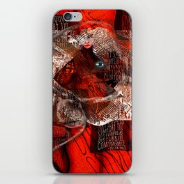 Comfort the Disturbed iPhone Skin