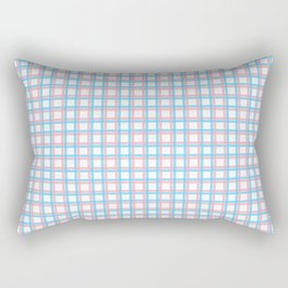 Queer Plaid - Trans Tartan Rectangular Pillow