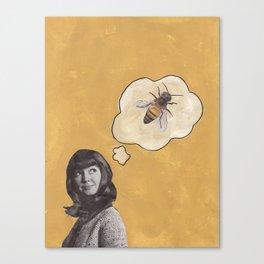Bee Mine Canvas Print