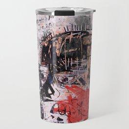 Basquiat Style Travel Mug