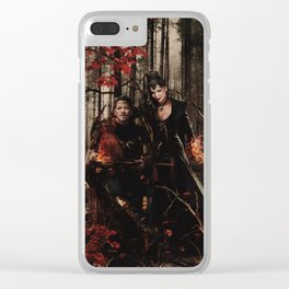 Outlaw Queen - Prince of Thieves and The Queen Clear iPhone Case