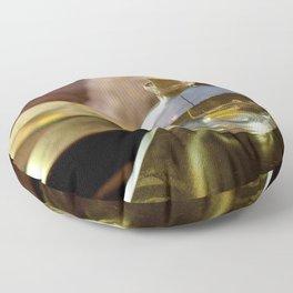 Sailboat On The Lake (Bottle Up Summer) Floor Pillow