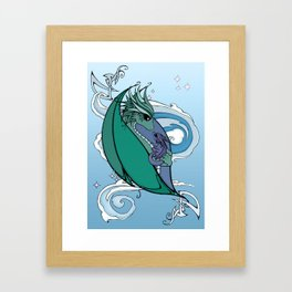 Dragons Framed Art Print