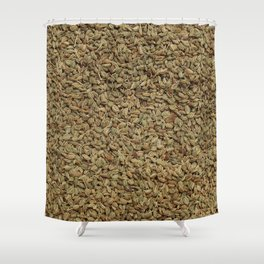 Ajwain Shower Curtain