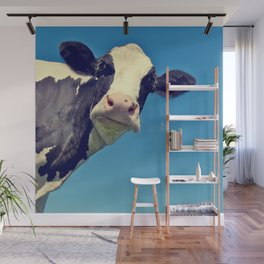 Country Life | Say Hello to Mrs. Cow Wall Mural