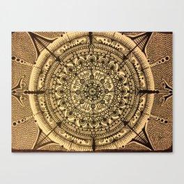 The Shield Canvas Print