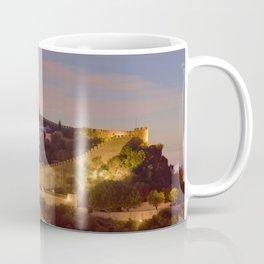 Obidos castle at dusk, Portugal Coffee Mug