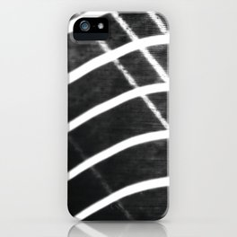 Light and wind when playing iPhone Case