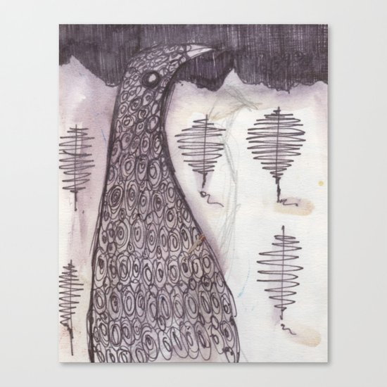 Bird (2009) Canvas Print