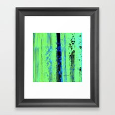 Gerhard Richter Inspired Urban Rain 2 - Modern Art Framed Art Print