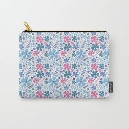 My Little Garden pink &blue Carry-All Pouch