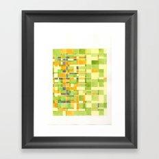 color field_04 Framed Art Print