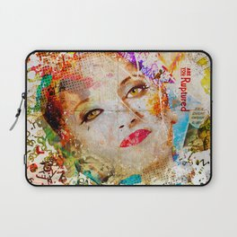 Retro Woman Laptop Sleeve