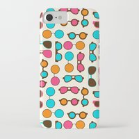 sunglasses iPhone & iPod Cases featuring Sunglasses by Valendji