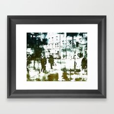 Every day life Framed Art Print