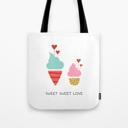 Ice Cream lovers Tote Bag