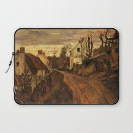 Paul Cézanne - The Village Road - Auvers - French Postimpressionist Fine Art - Cezanne Laptop Sleeve