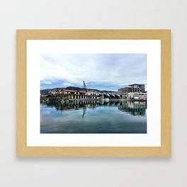 Frank Kitts Lagoon Framed Art Print