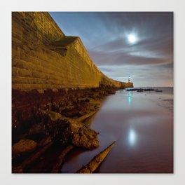 Seaham lighthouse Canvas Print