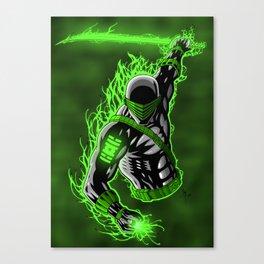 Snake Eyes GL Canvas Print