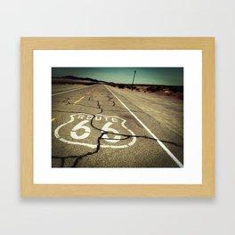 Route 66 #1 Framed Art Print