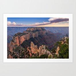 North_Rim Grand_Canyon, AZ - 5 Art Print