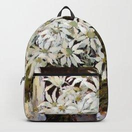 """""""Banksia"""" by Australian Artist Margaret Preston Backpack"""