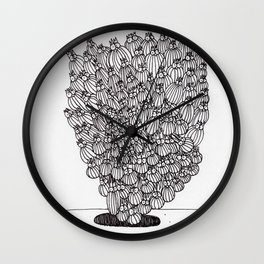 Escaping Up Wall Clock