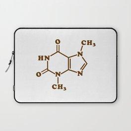 Chocolate Theobromine Molecule Chemical Formula Laptop Sleeve