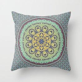 Traditional Mandala Design Throw Pillow